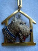 Art Deco Brooch - Charles Horner Terrier Dog Pin (sold)